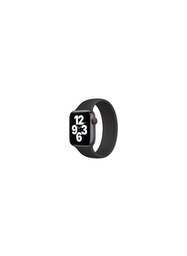 Jacobson Apple Kordon Solo Loop Watch 6 42Mm-44Mm Kordon Kayış Siyah